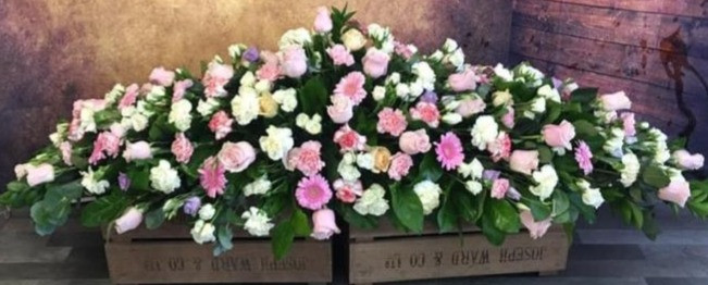 Double Ended Coffin Spray Funeral Flower Tribute Example 10.jpg