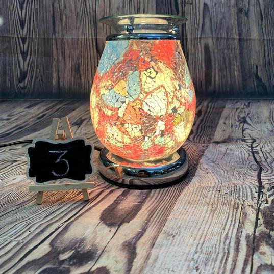 Mosaic Electric Wax Melt Burner No. 3