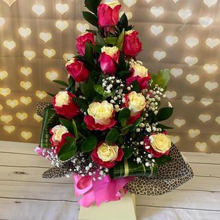 marshmallow Rose Bouquet 037
