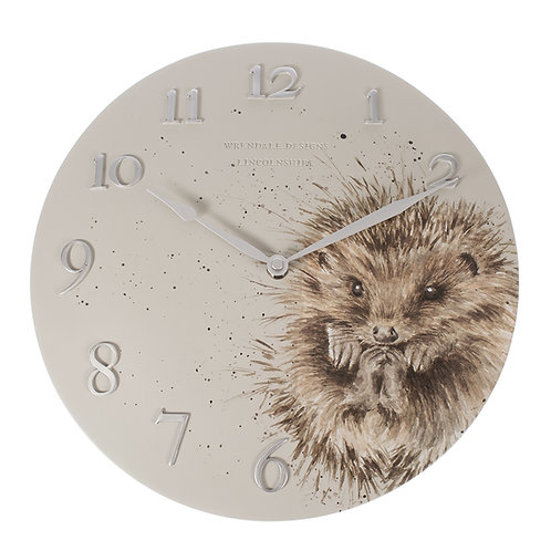 """Hedgehog"" Wall Clock"