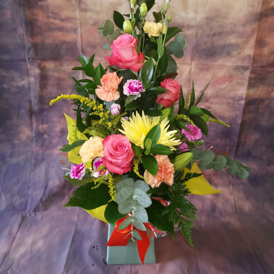Flower Bouquets and Aquas 171