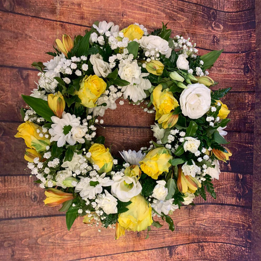 Funeral Wreaths, Hearts + Cushions 041