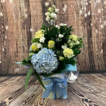 Blue and Cream Flower Bouquet.jpg