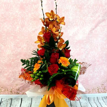 orchid aqua flower bouquet.jpg