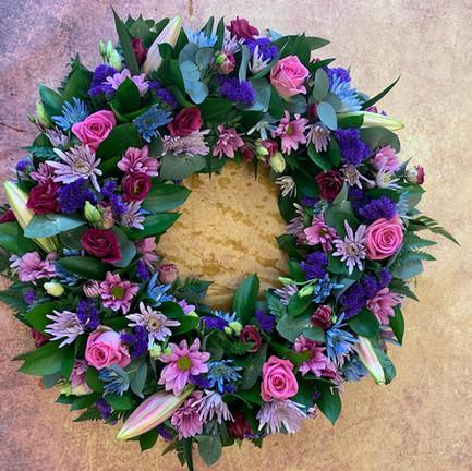pink and purple funeral wreath tribute.jpg