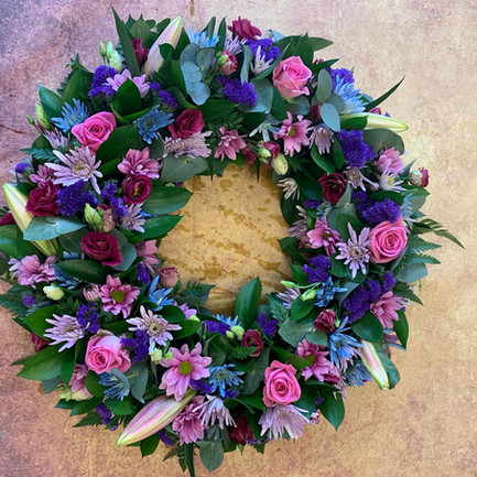 Funeral Wreaths, Hearts + Cushions 031
