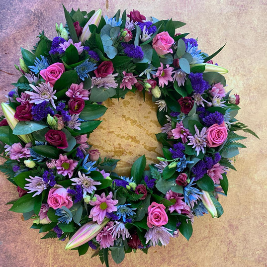 Funeral Wreaths, Hearts + Cushions 031