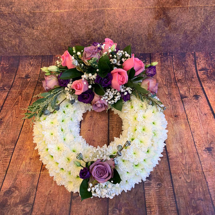 Funeral Wreaths, Hearts + Cushions 047