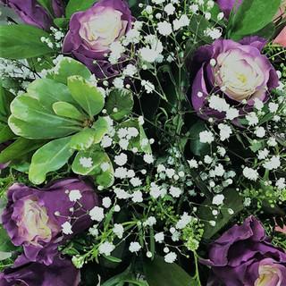 marshmallow roses purple