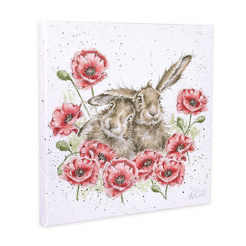 Wrendale Designs Large Canvas Love Is In The Hare Free delivery from the flower shop kirton