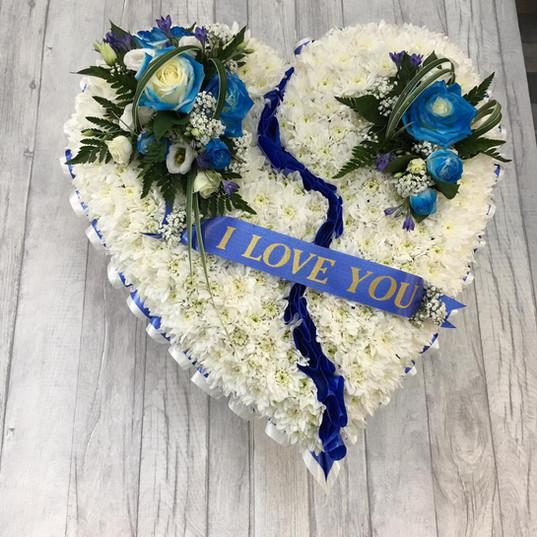 Funeral Wreaths, Hearts + Cushions 006