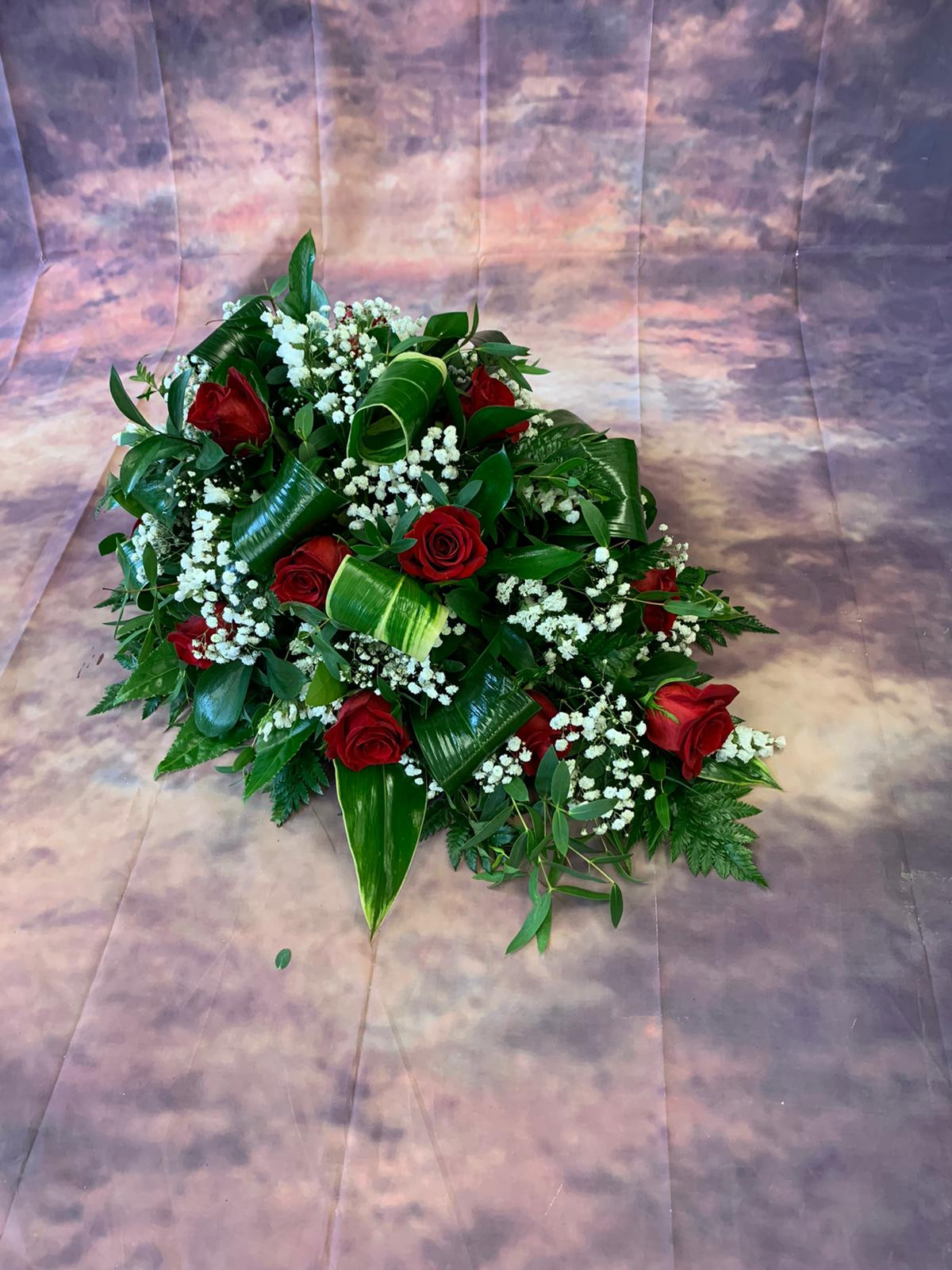 Funeral Coffin Spray 013