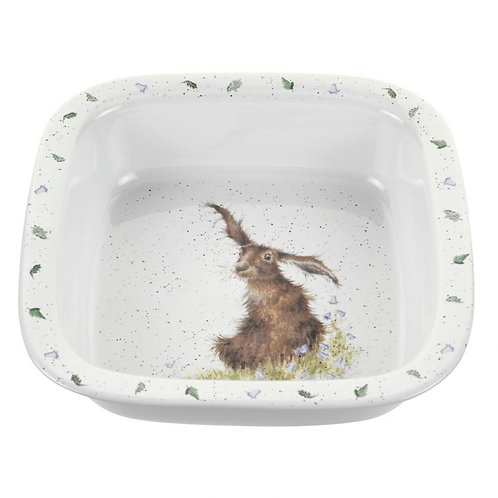Wrendale designs square dish Free delivery from the flower shop kirton