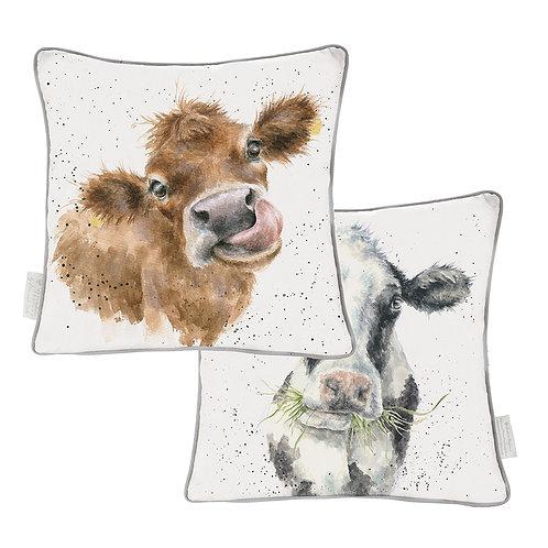 Wrendale Designs-Moooo Cushion