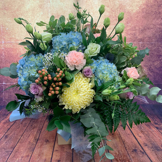 Flower Bouquets and Aquas 179