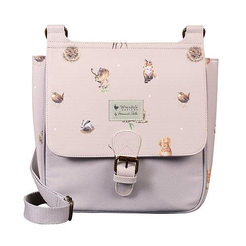 Wrendale Designs Woodlanders satchel bag Front View