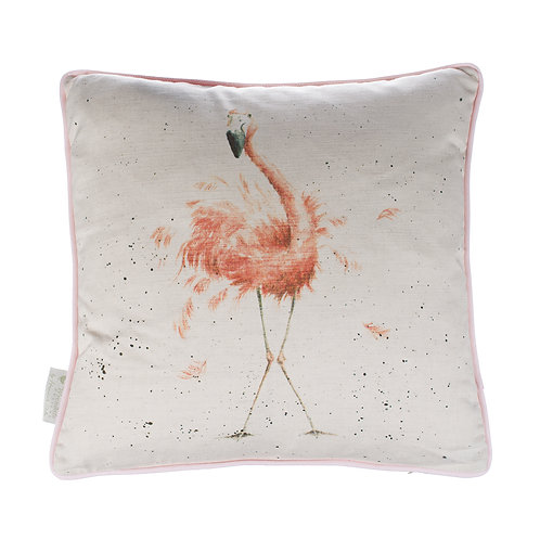 Wrendale Designs-Pink Lady Cushion-Front