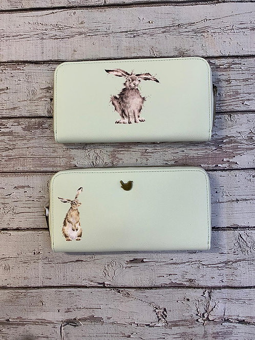 wrendale designs large purse hare Free delivery from the flower shop kirton