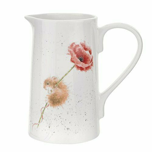 Wrendale Designs by Royal Worcester 2 Pint Jug  Country Mouse Free delivery from the flower shop kirton