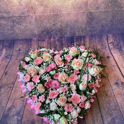 Funeral Wreaths, Hearts + Cushions 024