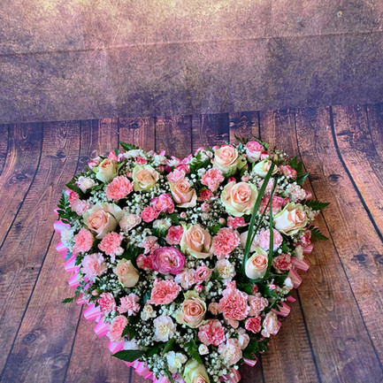 pink rose solid heart funeral flower tribute.jpg