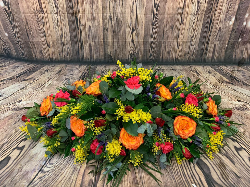 double ended Coffin Spray Funeral Flower Tribute Example 24.jpg