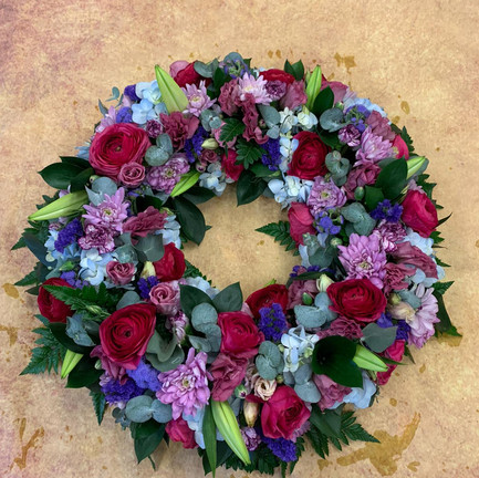 Funeral Wreaths, Hearts + Cushions 050