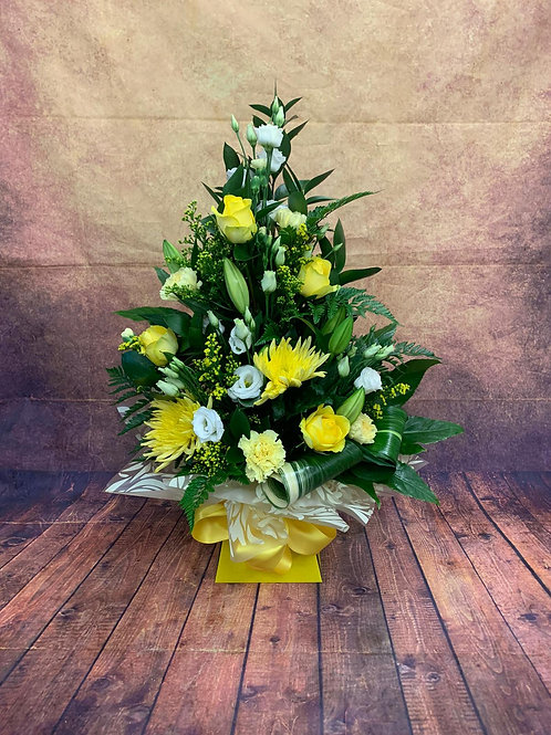Tall Aqua Bouquet                            Prices Start From