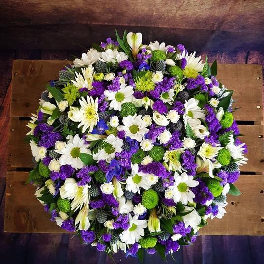 Funeral Wreaths, Hearts + Cushions 012