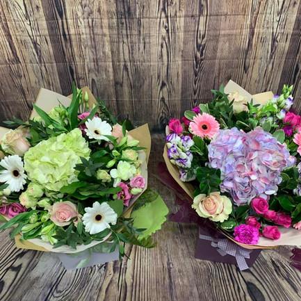 hydrangea aqua bouquets2.jpg