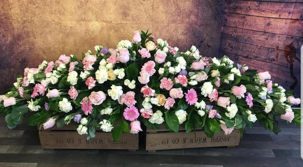 Double Ended Coffin Spray Funeral Flower Tribute Example 4.jpg