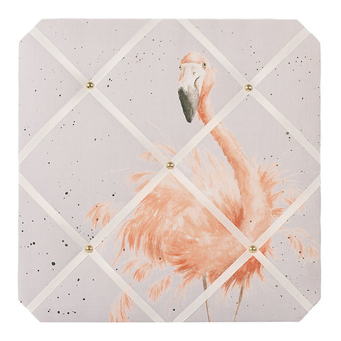Wrendale Designs Pretty in Pink fabric notice board