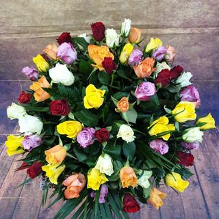 60 mixed premium rose