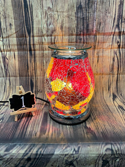 Electric Mosaic Wax Melt Burner