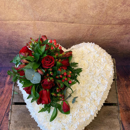 Funeral Wreaths, Hearts + Cushions 022