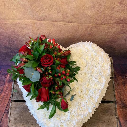 Funeral Wreaths, Hearts + Cushions 022