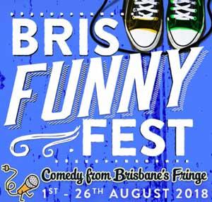 Bris Funny Fest logo