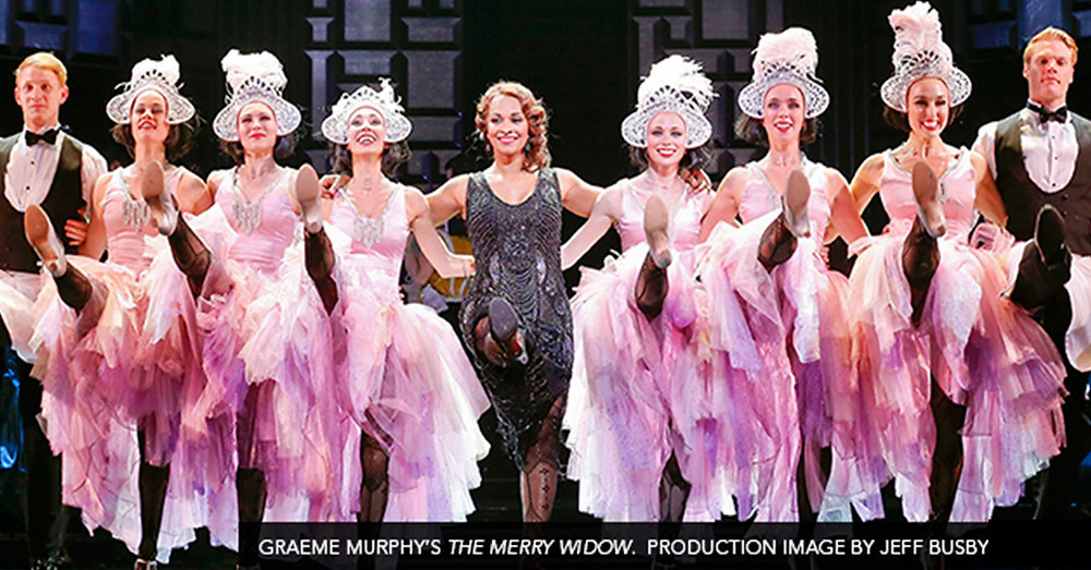 The Merry Widow cast