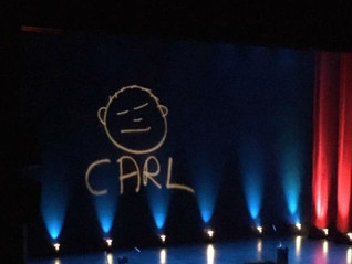 IS CARL BARRON AS FUNNY AS HE WAS IN HIS THIRTIES?