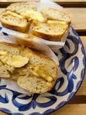 Peanut Butter, Date Halva and Banana on