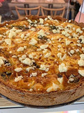 We recently added quiche to our menu and