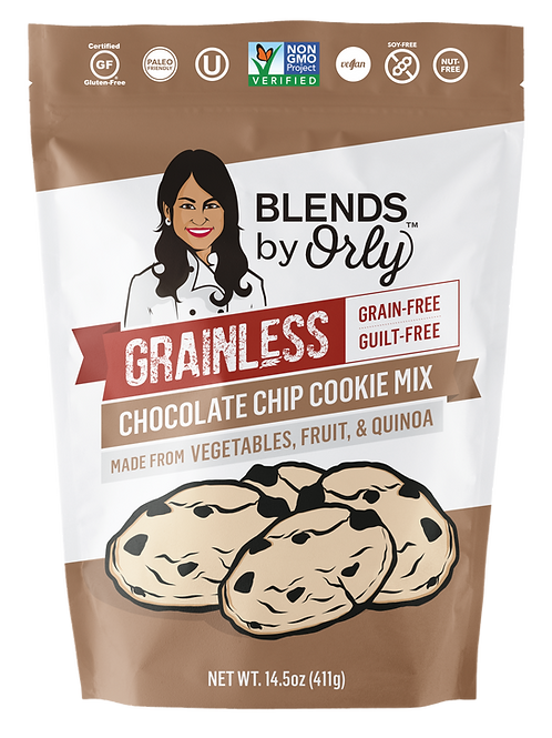 Grainless Chocolate Chip Cookie Mix