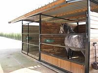 cobertizos para caballos