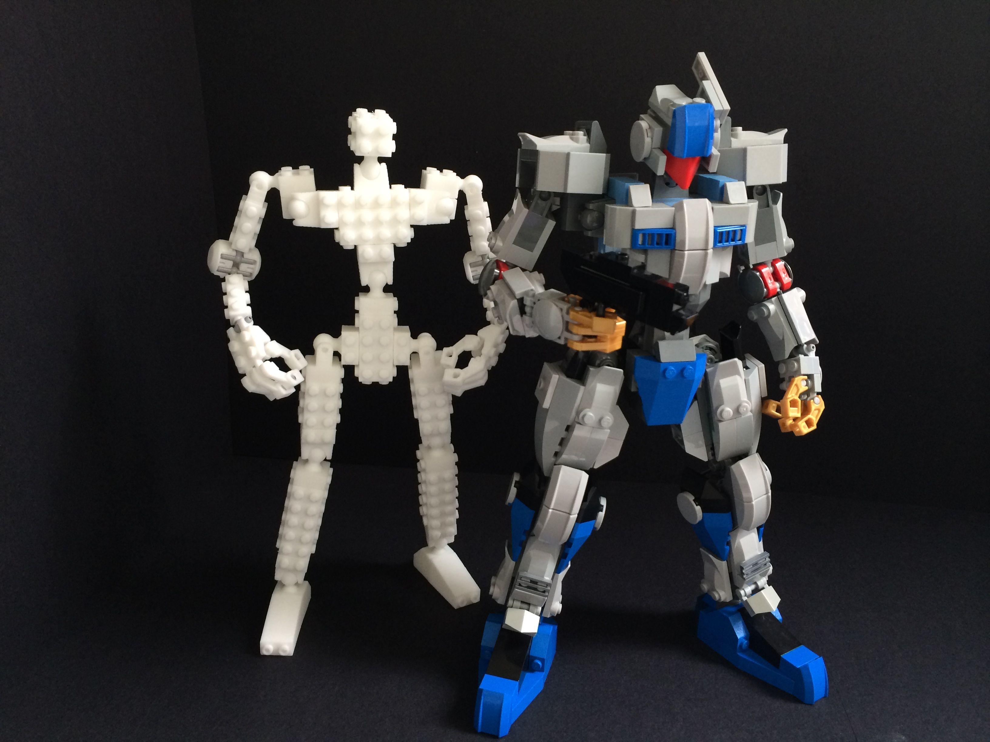 LEGO Compatible Robot Frame by MyBuild | Hero Design Studio︱Home