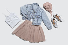 cute skirt outfit ootd