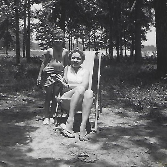12b. Michael and Mother at the lake.jpg