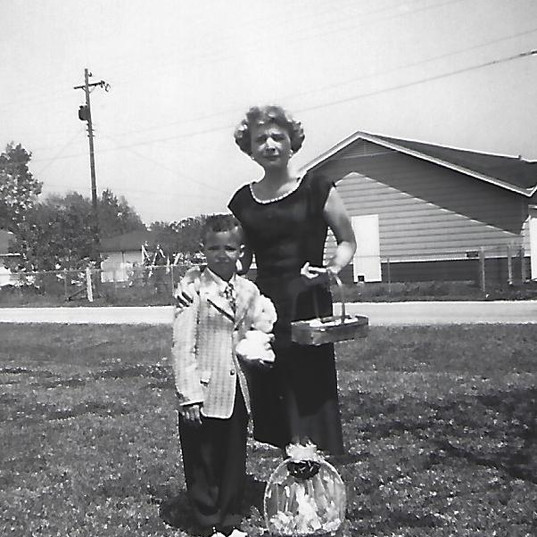 Mother Mike Easter 1959.jpg