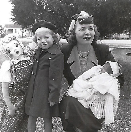 Mother, me, Jaxie Christening not croppe