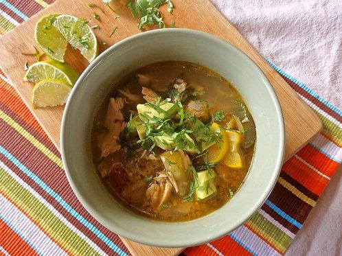 Green Chili Chicken Stew
