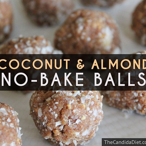 Coconut & Almond No-Bake Balls